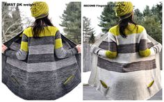 Ravelry: jettshin& Test knit-Twice the Yellow Sand Cardigan Pattern, Crochet Cardigan, Knit Crochet, How To Purl Knit, Raglan, Pullover, Lace Knitting, Cardigans For Women, Crochet Clothes