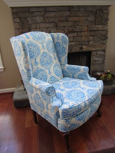 Blue Motifs and Dovetales- chairs by Urbanmotifs