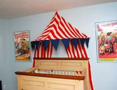 Circus Nursery - Classy Clutter