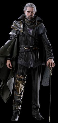 King Regis Lucis Caelum - Kingsglaive: Final Fantasy XV Male noble RPG character inspiration