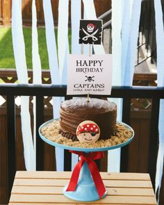 pirate birthday party cake, 2013 birthday party dessert ideas #food #dessert #ideas www.foodideasrecipes.com