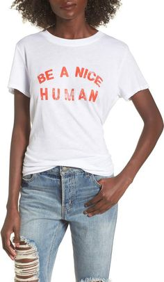 Find Sub_Urban Riot Be A Nice Human Tee online. Shop the latest collection of Sub_Urban Riot Be A Nice Human Tee from the popular stores - all in one Mom Outfits, Summer Outfits, Cute Outfits, Vacation Outfits, Urban Fashion, Teen Fashion, Fashion Hats, Fashion Women, Fashion Ideas