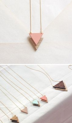geometric necklaces
