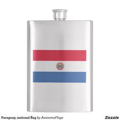 Paraguay, national flag flask