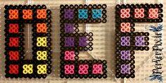 Tetris Letters - D, E, F by PerlerPixie on DeviantArt