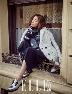Hwang Jung Eum talks about wrecking her image for 'She Was Pretty' in 'Elle'   allkpop.com