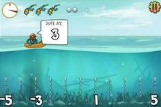 Pearl Diver: Practice Number Lines With This Diving Game!