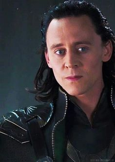 This is Loki's face when Coulson said he lacked conviction. I think that Loki was afraid Thanos would hear Coulson, and realize that Loki was not really trying to win.<<This!