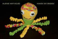 Dit inktvisje is gemaakt door Joke van den Beukel.