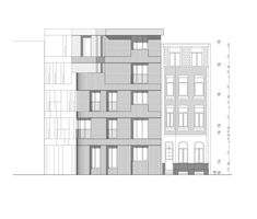 Collective housing AGVC,Elevation
