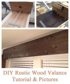 rustic wood cornice
