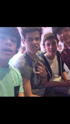 Hayes Grier Nash Grier Shawn Mendes Aaron Carpenter LOVE THEM ALL SO FREAKING MUCH<3 :)