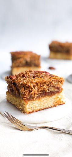 Danish Dessert, Cookie Bars, Blondies, Pecan, Tapas, Banana Bread, Cookies, Recipe