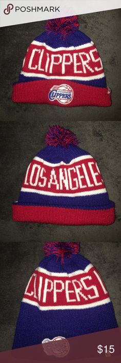 LA Clippers Beanie LA Clipper Los Angeles clippers Beanie, brand new without tags. Perfect for winter! 47 Accessories Hats