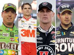 Final four drivers chase NASCAR Sprint Cup championship
