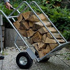 Multifunktions- Sackkarre Transportkarre Brennholz Wagen