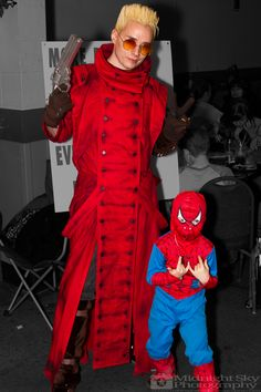 #VashTheStampede #Vash from #Trigun and #Spiderman #Cosplay from #SteelCityCon #ComicCon ----- Check out more of my photography @ http://www.facebook.com/MidnightSkyPhotography (Link in Profile) ----- #MidnightSkyPhotography #MidSkyPhoto