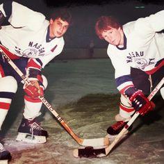 Old Time Hockey Anthony Fiamma Martin Jaycard