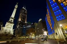 Visit the top of the Soldiers & Sailors Monument and get a view of the city. There is a $2 fee to use the elevator or walk the stairs for FREE.