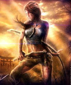 Lara croft tribal xxx