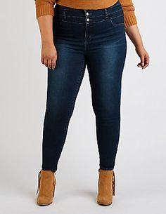 d031f4fcf9962 Plus Size Refuge Hi Rise Skinny Jeans Latest Styles