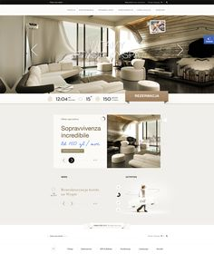 Hotel by Dominik Wasieńko, via Behance