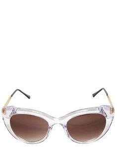 84f4844e651a Diamondy Cat Eye Acetate Sunglasses - Lyst Ray Ban Sunglasses Outlet
