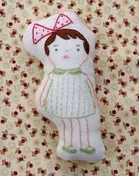 cute embroidered softie
