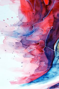 Watercolor, gel pen texture II by jane-beata.deviantart.com on @deviantART