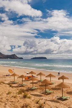 Sandy beach of Porto Santo, Madeira, Portugal | by Krasheninnikov Stepan on 500px