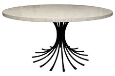 Bone Dining Room Table by Ironies