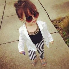 Little fashionista :)
