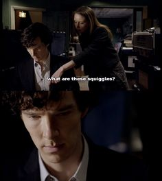 The moment that Sherlock decides that he has to get rid of Ms. Sawyer before she lowers John's IQ.