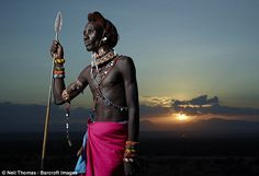 Photographer Neil Thomas said: 'I believe much of the culture and traditional…