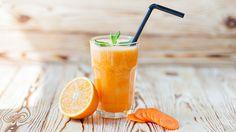 Karotten Minze #Smoothie - https://www.gesundheits-frage.de/3787-karotten-minze-smoothie.html
