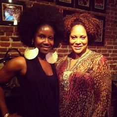Here's me and Kim Coles a few years ago after she did a HILARIOUS stand-up show! @kimcoles #funnylady #TBT