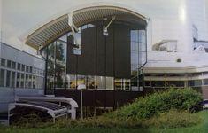 Ralph Erskine, fragment Biblioteki Uniwersytetu w Sztokholmie, 1982-1988