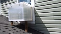 This is Amazing! Solar room heater gives free heat all winter and doubles as a solar oven.