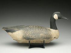 Hollow Canada goose, Ben Schmidt, Detroit, Michigan, circa 1930.