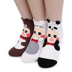 Animal Doll pajama Women Cute Lowcut Socks 5pairs 1pack Intype socks https://www.amazon.com/dp/B01I1AQPTK/ref=cm_sw_r_pi_dp_NomFxbBBCDBZ4