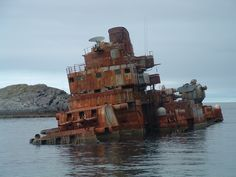 Today is Halloween, and we love to trade spooky stories of ghosts and ghost ships to get into the spirit. Today's ghost ship story, however, is more sad and pathetic than spooky: Soviet Cruiser Murmansk, once a ship that sent shivers down NATO admirals' spines, wound up an embarrassing rusted-out hulk stuck in a Norwegian fjord in the mid 90s. In many ways this ended up a perfect metaphor for the state of the former Soviet military at the time; as Putin rattles his saber today, it's easy to…
