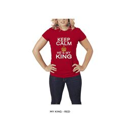 Men's & Women's Keep Calm 100% Cotton T-shirt - Assorted Styles and Extended Sizes