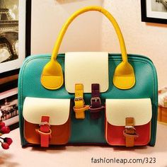 colorful bag to brighten up any outfit