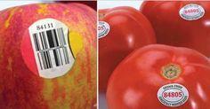 ÉVITEZ d'acheter des fruits dont le code sur l'étiquette commence par 8. VOICI la raison!