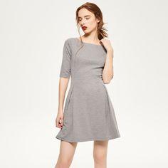 Rozkloszowana sukienka, RESERVED, QF925-09X