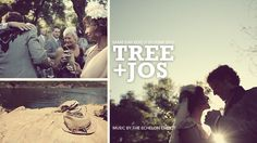THE MOST BEAUTIFUL WEDDING VIDEO EVER RECORDED. Watch it and weep with joy. <3 Tree + Jos // Same Day Edit | Ojai, California by Moetic Films. 23 JUNE 2012 // Same Day Wedding Film