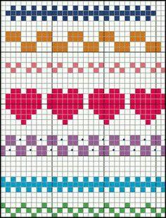 Terrific Pics Cross Stitch borders Suggestions Brain Clutter: Cross stitch pattern: Borders and things Cross Stitch Boarders, Cross Stitch Designs, Cross Stitching, Cross Stitch Embroidery, Embroidery Patterns, Easy Cross Stitch Patterns, Easy Patterns, Floral Embroidery, Hand Embroidery