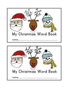 CHRISTMAS EMERGENT READER: CHRISTMAS WORDS