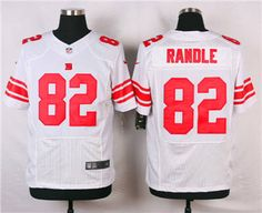 Nike New York Giants  82 Rueben Randle White Elite Jersey New York Giants  Jersey 28ddb76ba
