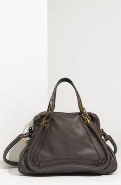 Chloé, Paraty medium satchel, Rock, $1895